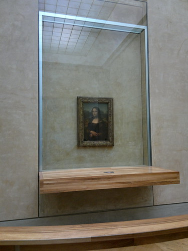 Monalisa no Louvre by jailsonrp
