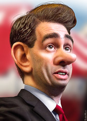 Scott Walker - Caricature