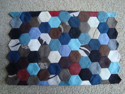 A raw panel