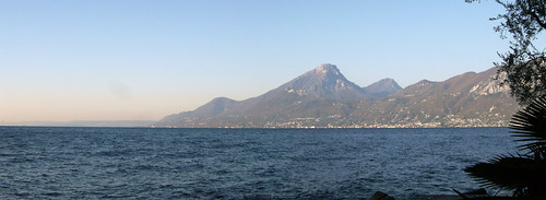 View of Pizzocolo from Castelletto