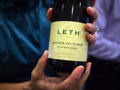 Leth Scheiben 2009, Grüner Veltliner from Austria, World Gourmet Series Wine & Restaurant Experience 2011 WRX Wine Journey