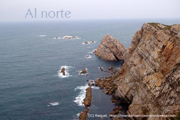 Al norte. Cabo de Peñas (Asturias)