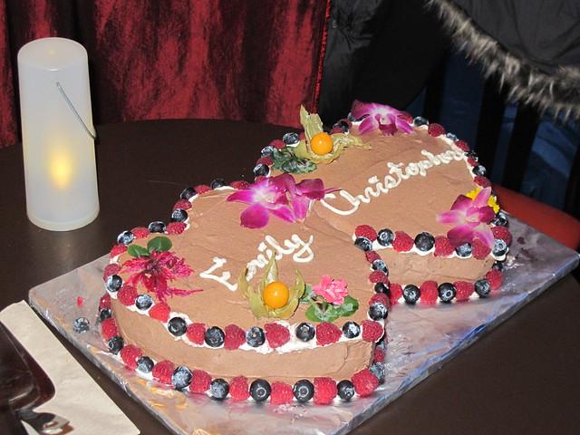 Nourish Wedding Cake