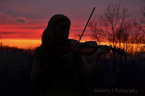 Sunset play