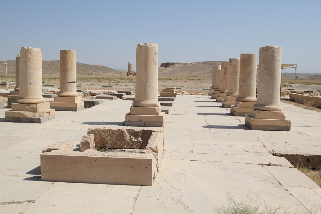 The Audience Hall of the Pasargadae Palace