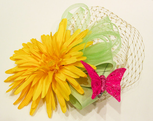 Summery Fascinator