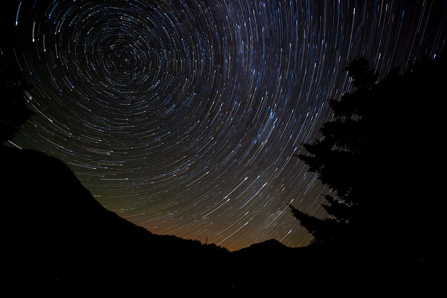 Star trails and Star tails.