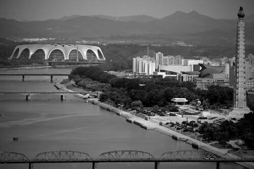 Taedong River View Pyongyang