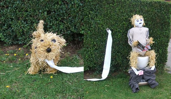 Scarecrow Dulux Dog!
