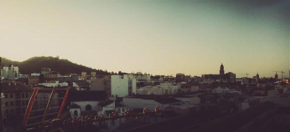 Málaga amaneciendo - Versión a