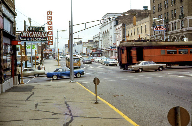 19680810 05 South Shore Line, LaSalle & Michigan in South Bend