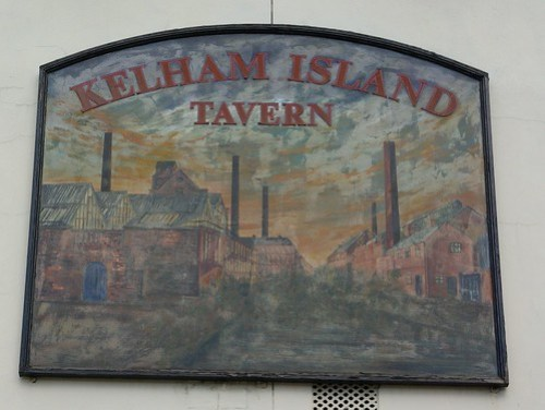 Kelham Island Tavern (sign), Sheffield