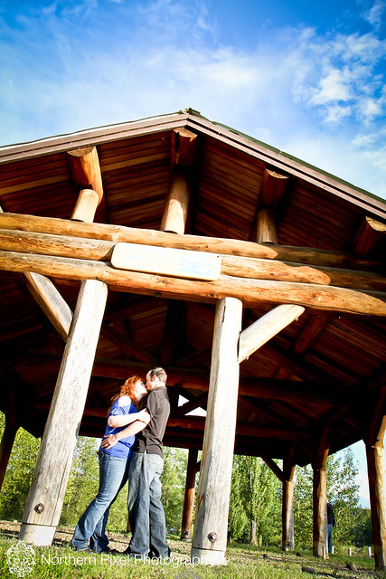 Naomi & Matt- Engagement Session, Cottonwood Island Park, Prince George, BC
