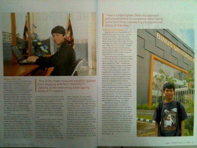 covered by Mindplus Magazine