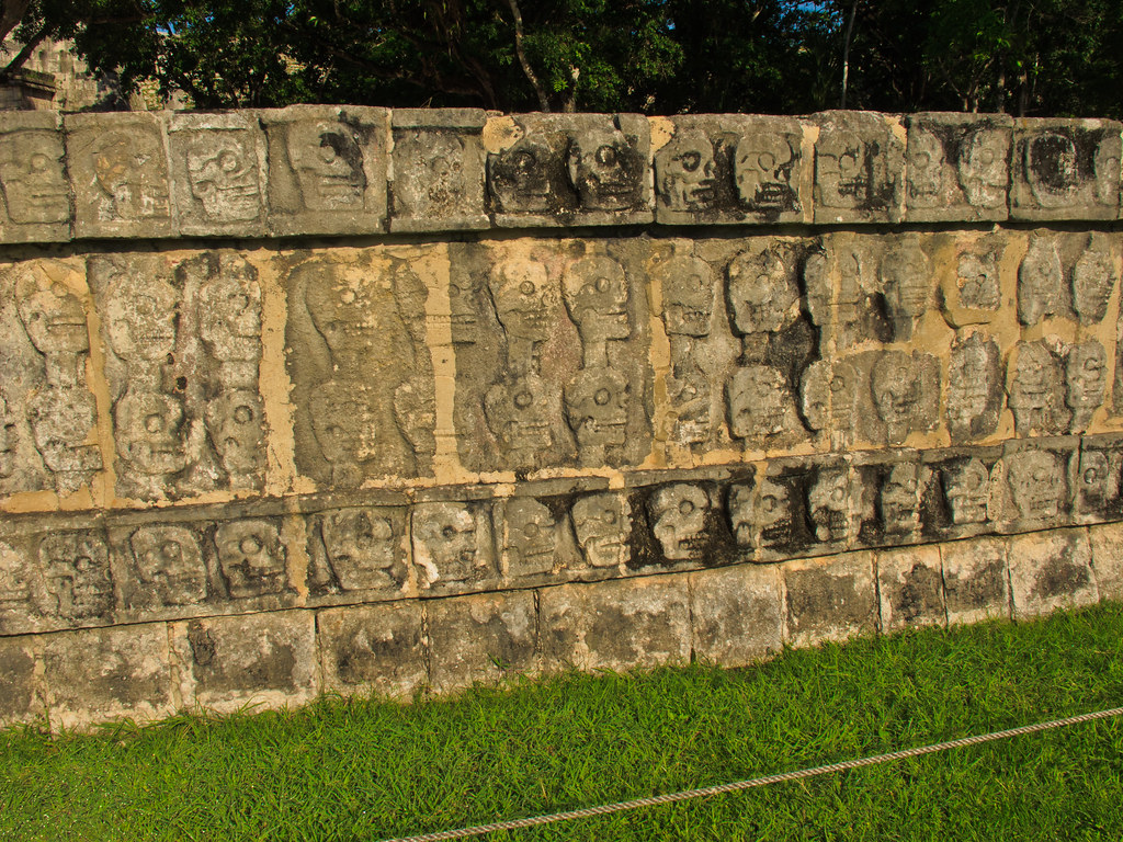 The Skull Platform, Chichen Itza