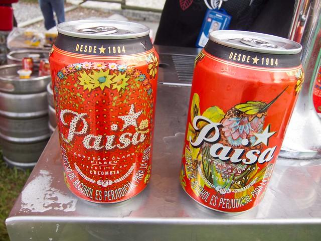 """Pilsen beer's special """"Paisa"""" can is produced every year around La Feria de las Flores"""