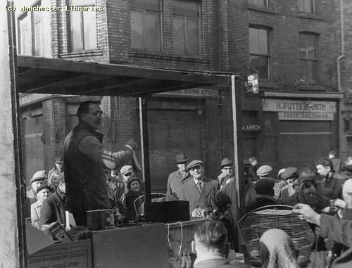 Shudehill Market Stall, 1958