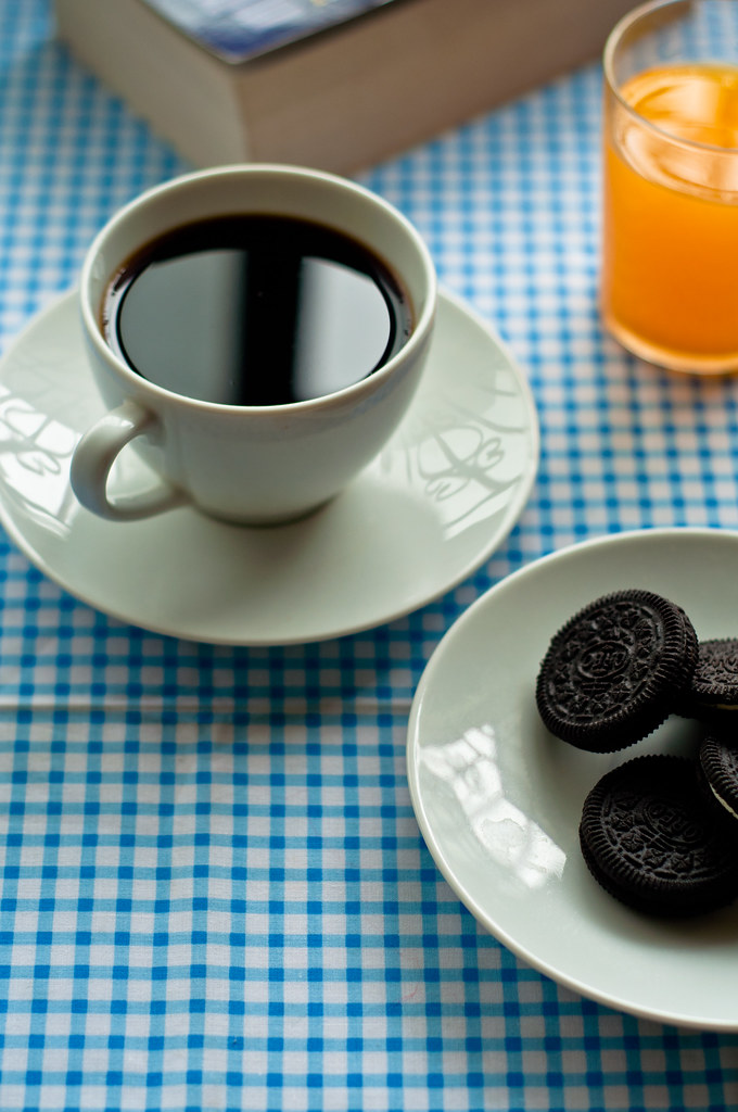 Day 243.365 - Coffee with Oreo
