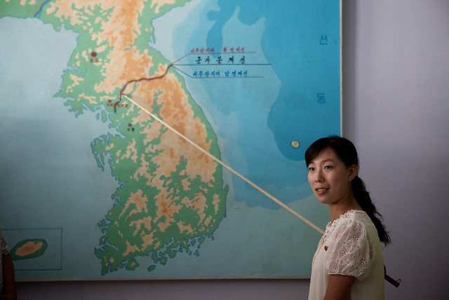 Pointing out the DMZ line