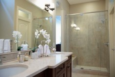 Bathroom remodel adds value to home for sale