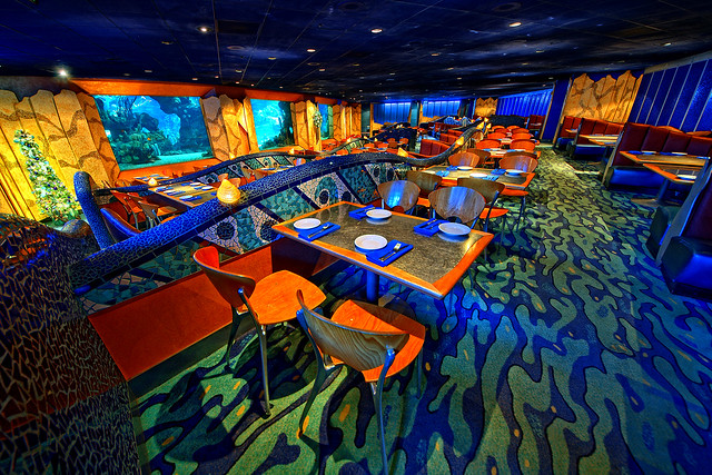 Disney Dining Under the Sea (Explored)