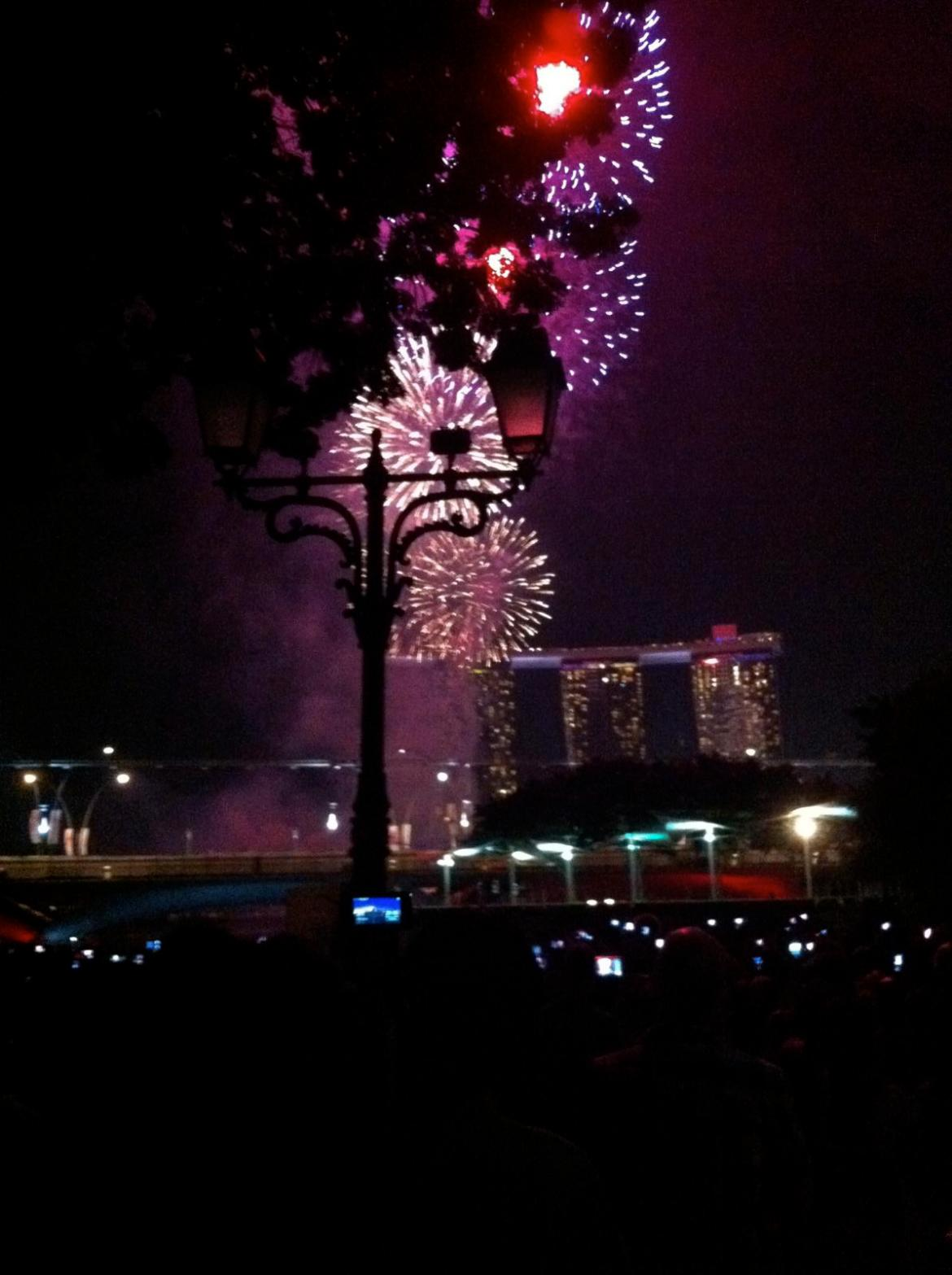 NDP 2011 - just the fireworks