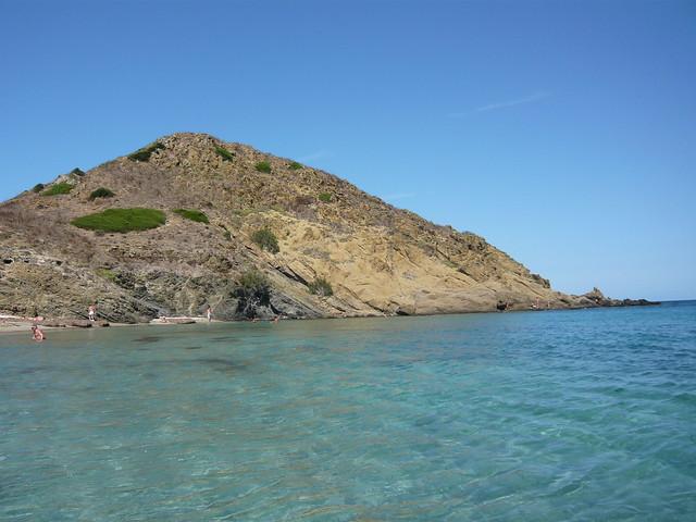 cala Mesquida a nord di Mahon - Minorca