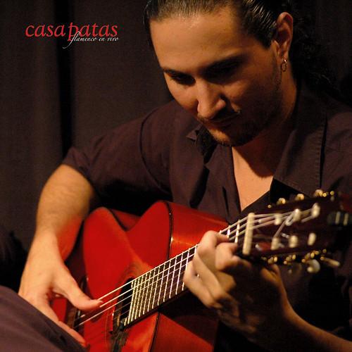 El guitarrista David Durán. Foto: Martín Guerrero