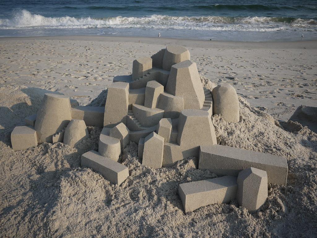 6063969026 41b133a24c b Geometric Sand Sculptures by Calvin Seibert