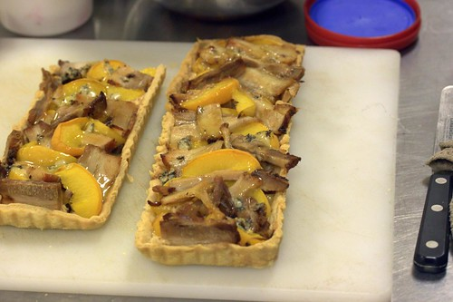 Peach and Pork Belly Pie