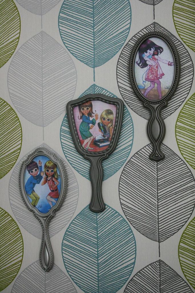 Hand Mirror Frames