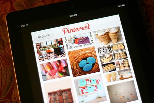 Pinterest + iPad = Love