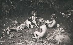 In Arkadien, 1901, by Herbert Arthur Hess