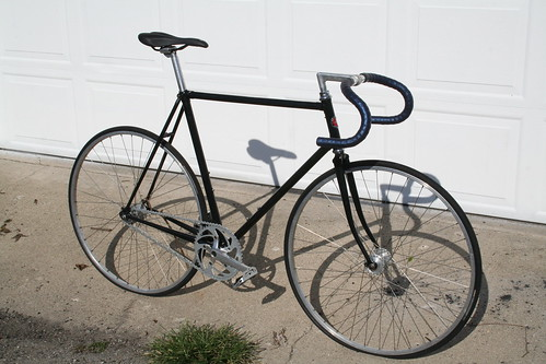 Schwinn World Sport Fixed Gear Conversion