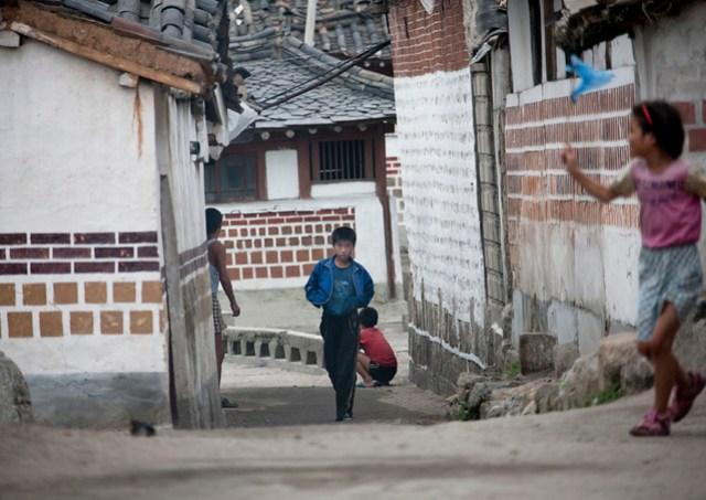 Kaesong old quarter - North Korea