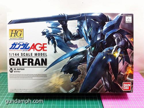 HG 144 Gafran OOB Review - Gundam AGE (1)