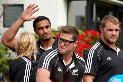 Jerome Kaino, Cory Jane & Owen Franks