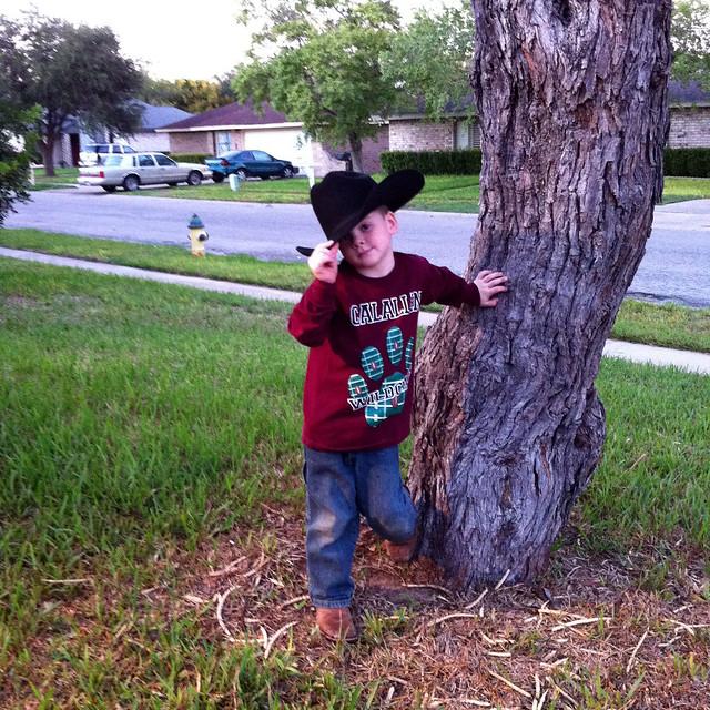 cowboy monkey