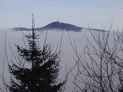 Lysá hora from Smrček