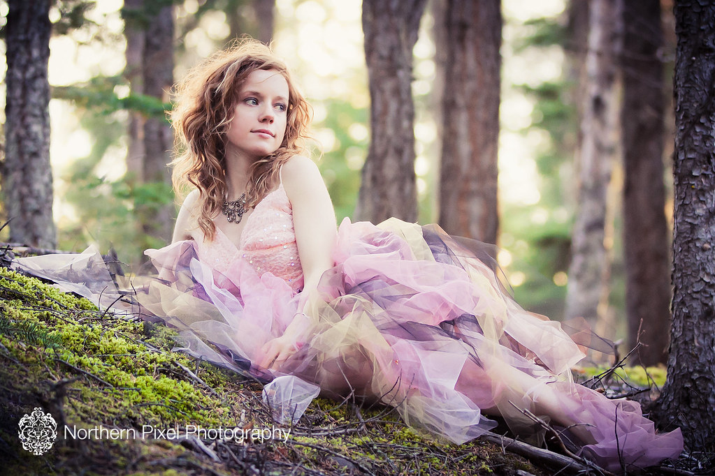 Fairy in the forest styled session Prince George