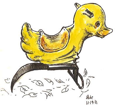 community park duck