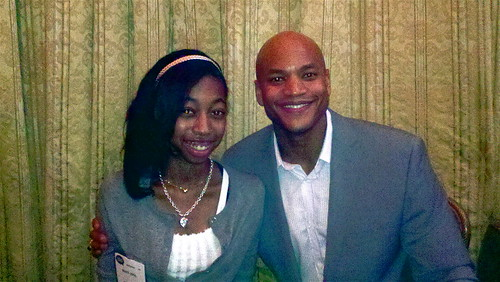 Najaya Royal and Wes Moore
