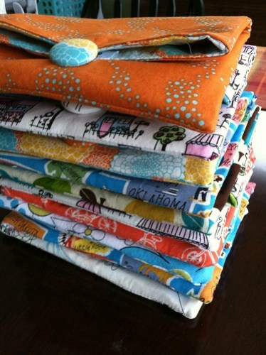 stack of clutches