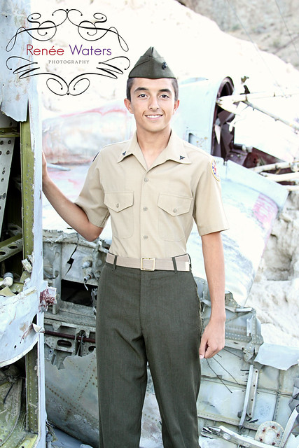 ROTC Marine Youth