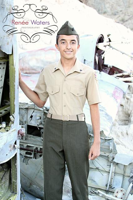 ROTC Marine Youth