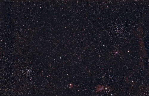 M35 and M36 in Auriga