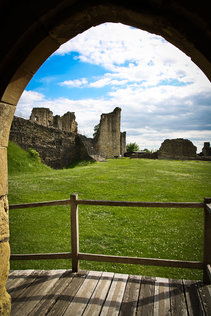 Pickering Castle, North Yorkshire