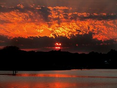 Fragmented Sunset