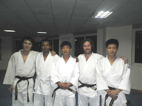 Black belts in Wuhan