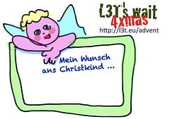 Ich wünsche mir vom Christkind ...